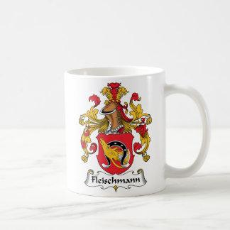 Escudo de la familia de Fleischmann Taza