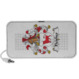 Escudo de la familia de Fleisher iPod Altavoces