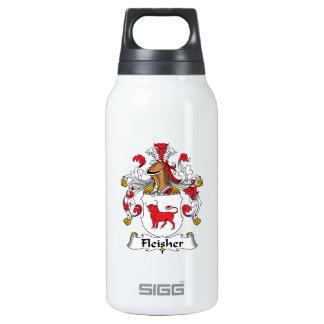 Escudo de la familia de Fleisher Botella Isotérmica De Agua