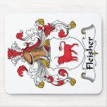 Escudo de la familia de Fleisher Alfombrilla De Ratón