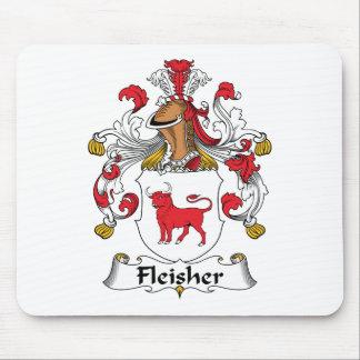 Escudo de la familia de Fleisher Tapetes De Raton