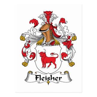 Escudo de la familia de Fleisher Postales