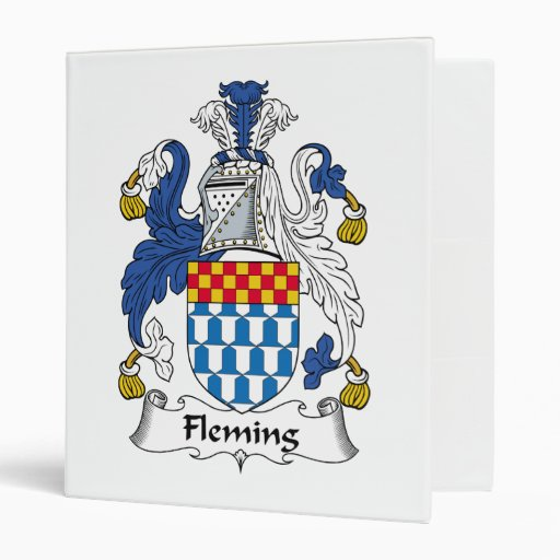 """Escudo de la familia de Fleming Carpeta 1"""""""