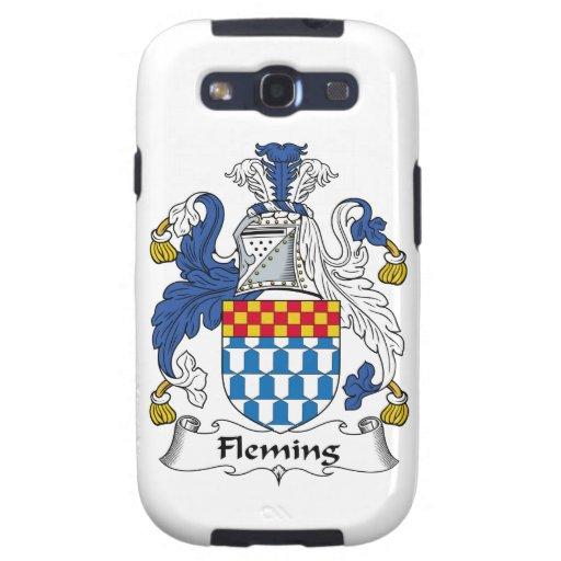 Escudo de la familia de Fleming Galaxy SIII Coberturas