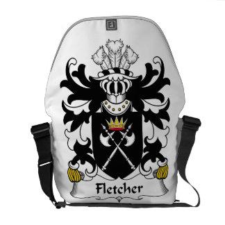 Escudo de la familia de Fletcher Bolsas Messenger