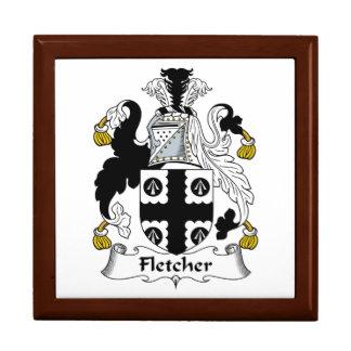 Escudo de la familia de Fletcher Cajas De Recuerdo
