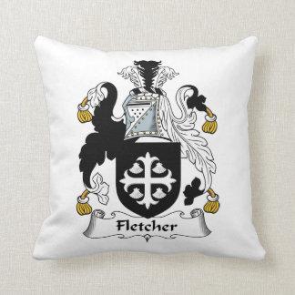 Escudo de la familia de Fletcher Cojines