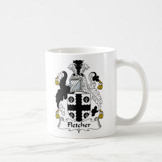Escudo de la familia de Fletcher Taza De Café