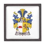 Escudo de la familia de Flindt Caja De Joyas De Calidad