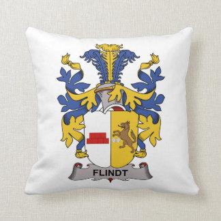 Escudo de la familia de Flindt Cojín
