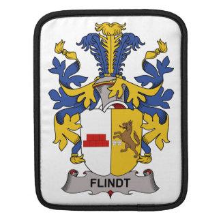 Escudo de la familia de Flindt Fundas Para iPads