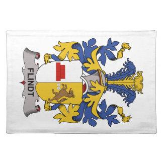 Escudo de la familia de Flindt Manteles