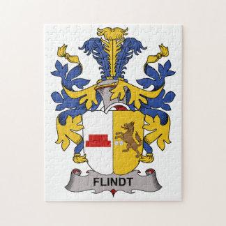 Escudo de la familia de Flindt Puzzles Con Fotos