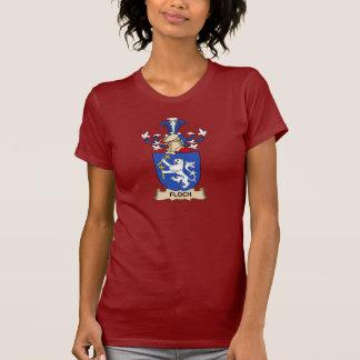 Escudo de la familia de Floch Camiseta