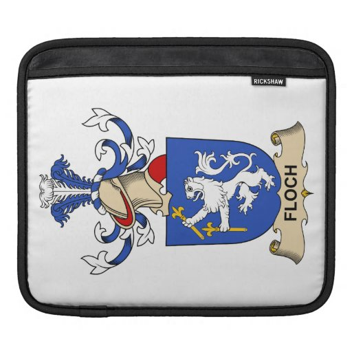 Escudo de la familia de Floch Fundas Para iPads