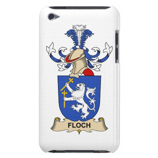 Escudo de la familia de Floch iPod Touch Case-Mate Carcasas