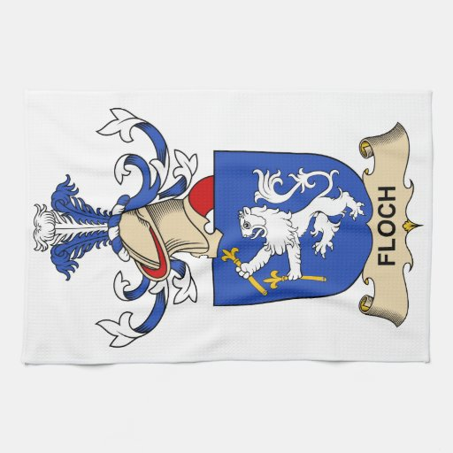 Escudo de la familia de Floch Toalla