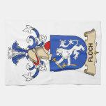 Escudo de la familia de Floch Toalla De Mano