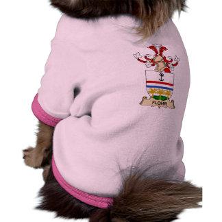 Escudo de la familia de Flohr Ropa De Mascota