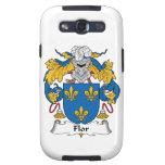 Escudo de la familia de Flor Galaxy S3 Protector