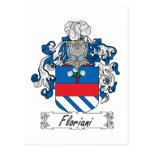 Escudo de la familia de Floriani Postal