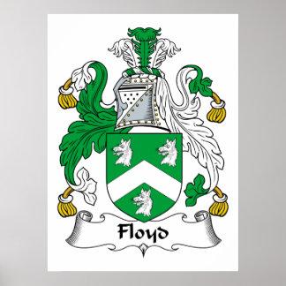 Escudo de la familia de Floyd Impresiones