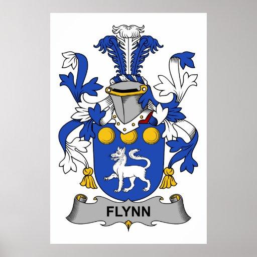 Escudo de la familia de Flynn Impresiones
