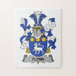 Escudo de la familia de Flynn Puzzle Con Fotos