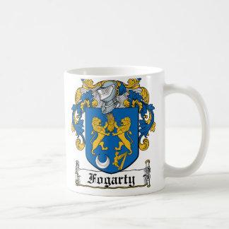 Escudo de la familia de Fogarty Tazas De Café