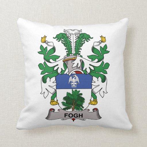 Escudo de la familia de Fogh Cojín