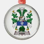Escudo de la familia de Fogh Ornamento Para Reyes Magos