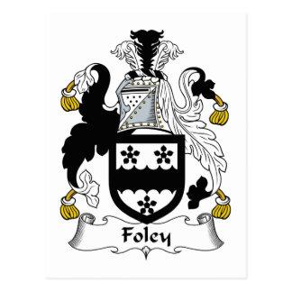 Escudo de la familia de Foley Postal