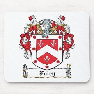 Escudo de la familia de Foley Tapete De Raton