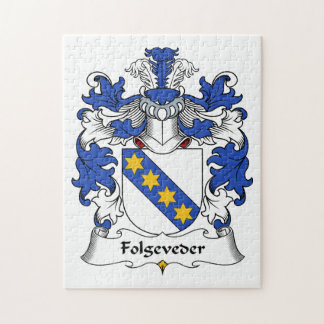 Escudo de la familia de Folgeveder Rompecabeza Con Fotos