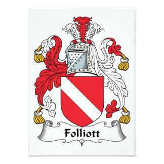 Escudo de la familia de Folliott Comunicado