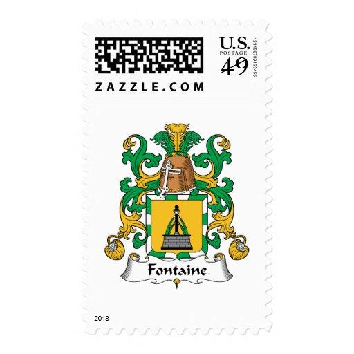 Escudo de la familia de Fontaine