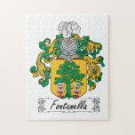 Escudo de la familia de Fontanella Rompecabezas