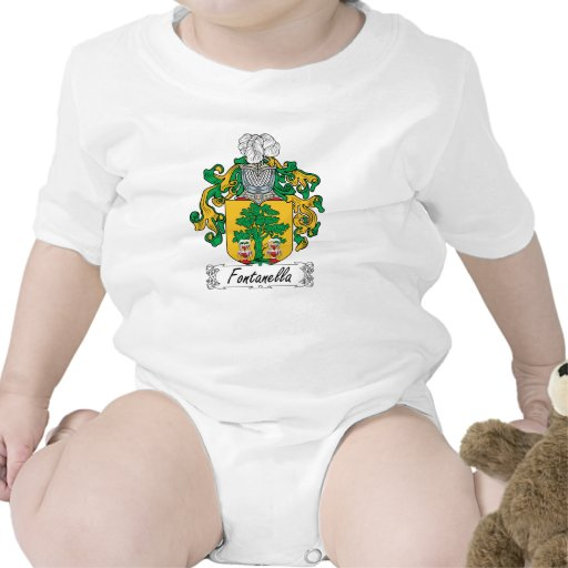 Escudo de la familia de Fontanella Trajes De Bebé