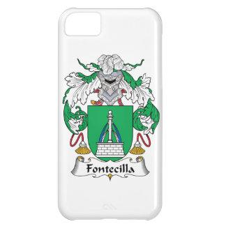 Escudo de la familia de Fontecilla Funda Para iPhone 5C