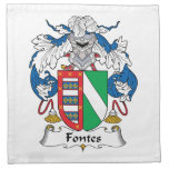 Escudo de la familia de Fontes Servilletas