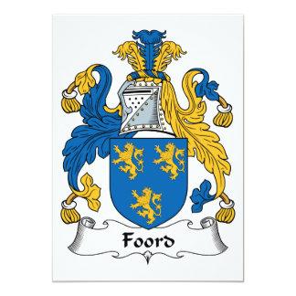 Escudo de la familia de Foord Anuncio