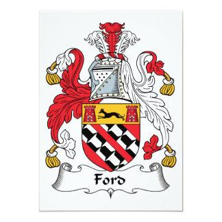 Escudo de la familia de Ford Comunicado