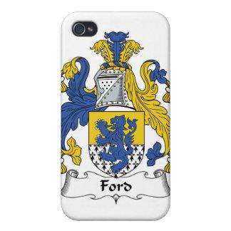 Escudo de la familia de Ford iPhone 4/4S Carcasa