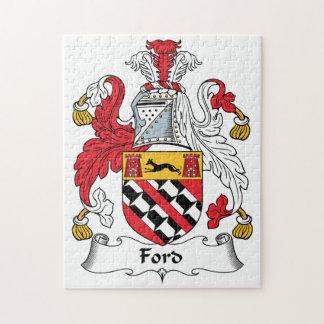 Escudo de la familia de Ford Puzzles Con Fotos