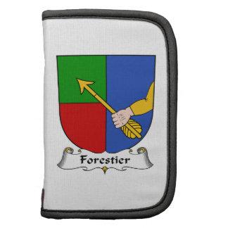 Escudo de la familia de Forestier Organizador