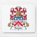 Escudo de la familia de Fornier Tapetes De Raton