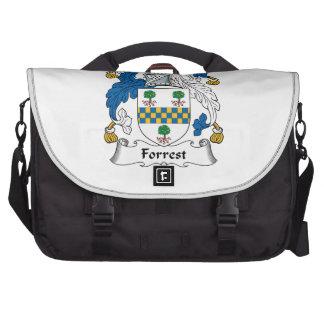 Escudo de la familia de Forrest Bolsas De Portatil