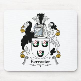 Escudo de la familia de Forrester Mouse Pads