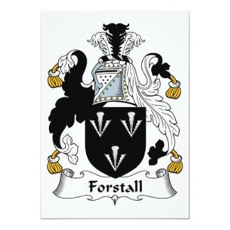 Escudo de la familia de Forstall Anuncio