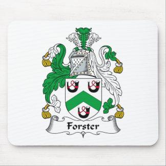 Escudo de la familia de Forster Tapete De Ratones